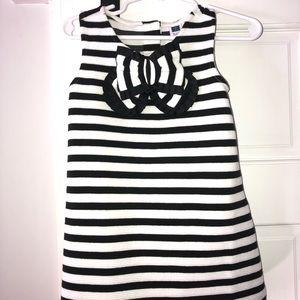 NWT Janie and jack black and white dress 18-24m